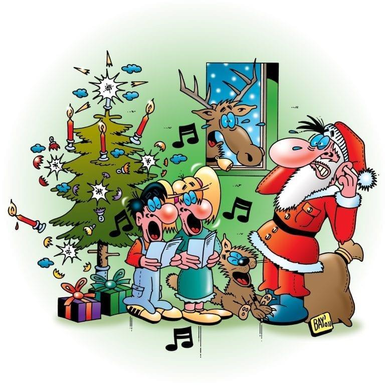 Telefonansagen für Weihnachten und Neujahr