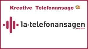 Kreative Telefonansage