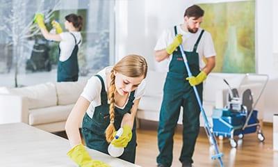 Telefonansagen Reinigungsdienst